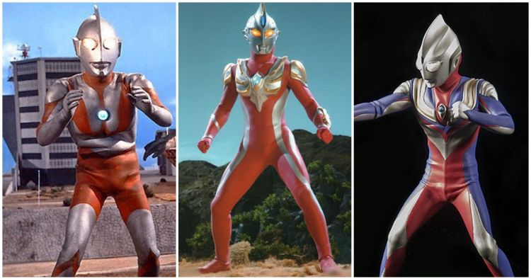 15 Transformasi kostum Ultraman dari masa ke masa, mana paling keren?