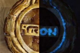 Tampilan pie glow in the dark, apa rahasianya ya?