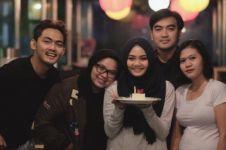 Rina Nose dapat kejutan ulang tahun dari mantan suami, romantisnya