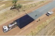 Teknologi Australia membangun jalan ini super canggih dan bikin iri