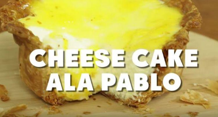Tak perlu antre, yuk bikin chesse cake ala Pablo sendiri