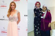 Hapus semua foto dan ganti bio di Instagram, Lindsay Lohan mualaf?