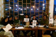 Khatulistangan, komunitas seni menulis tangan yang kreatif abis