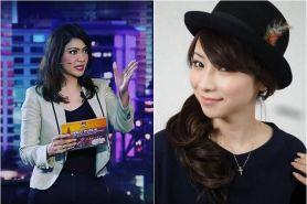 Adu gaya Ira Koesno dan Masako Mizutani yang kecantikannya awet