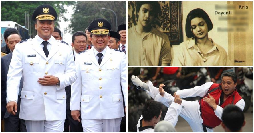 10 Foto buktikan Dede Yusuf awet muda sejak jadi aktor sampai politisi