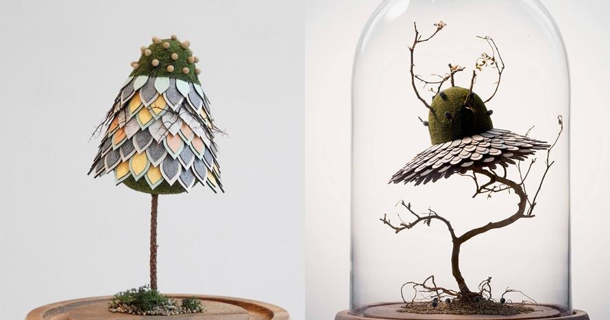 10 Foto perpaduan tanaman asli dan imajinasi ini hasilnya keren abis