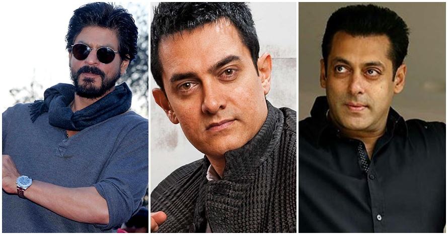 Sama-sama ngetop, ini beda keseharian Aamir, Salman, & Shah Rukh Khan
