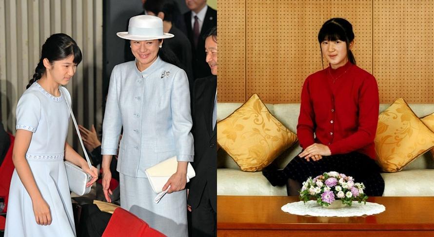 10 Foto transformasi Aiko, putri mahkota Jepang yang cantik dan kalem