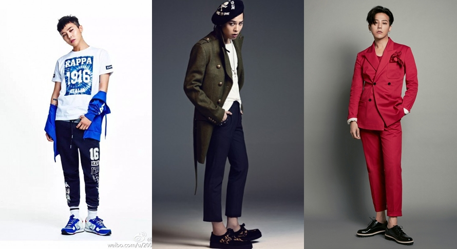 10 Penampilan G-Dragon Big Bang ini bukti ia ikon fashion top Korea