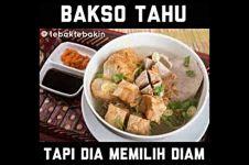 11 Meme 'makan bakso' ini bikin kamu kangen kuah gurihnya
