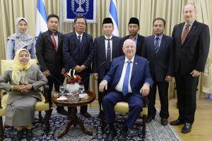 Mantan anggota DPD sekaligus pejabat MUI temui Presiden Israel