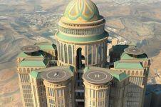 Hotel paling mewah di dunia bakal dibuka di Mekkah, wow