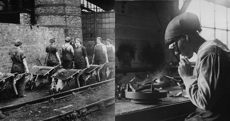 25 Foto pekerja perempuan saat Perang Dunia I, tangguh dan andal