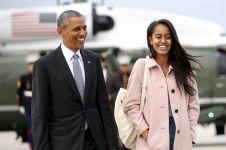 Ayahnya pensiun, Malia Obama kerja magang di perusahaan film Hollywood