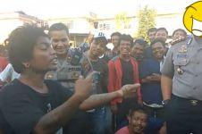 Stand up comedy ala anak jalanan ini bikin Kapolresta Medan ngakak