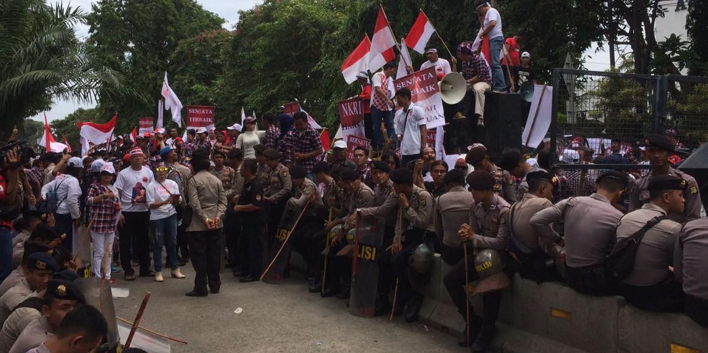 Sidang Ketujuh Ahok, polisi kerahkan ribuan personel