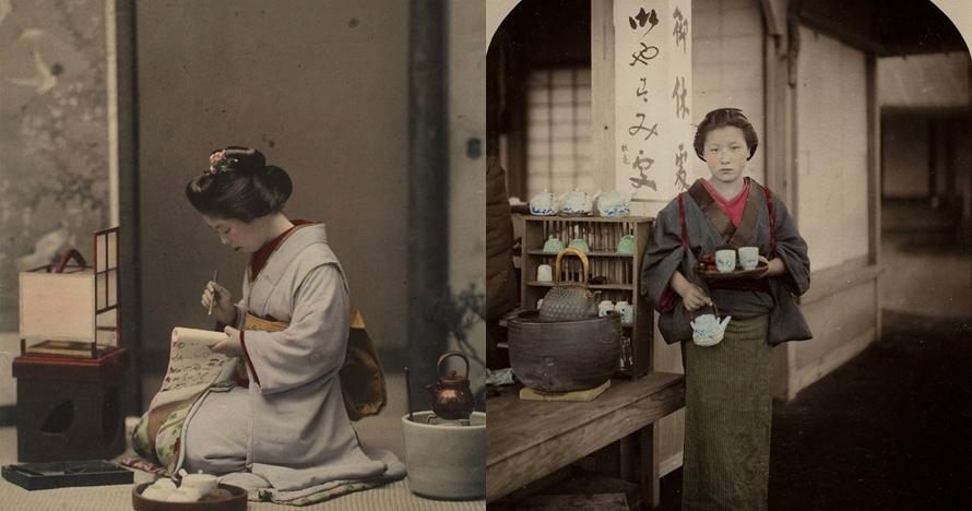 12 Foto lawas keseharian geisha Jepang tahun 1800-an ini keren abis