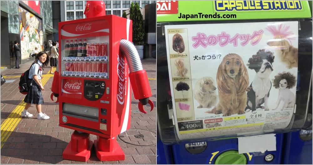 12 Mesin jual otomatis unik ini cuma ada di Jepang, Indonesia kapan?
