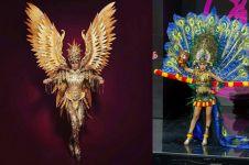 Ini gaya 10 Putri Indonesia berkostum Nasional di ajang Miss Universe
