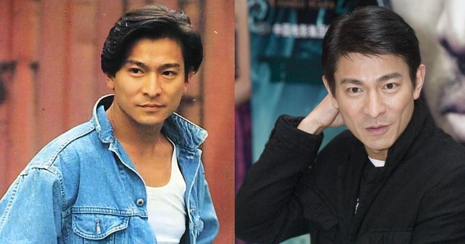 30 Tahun lebih berkarier, ini 12 transformasi penampilan Andy Lau