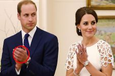 Ini alasan kenapa Pangeran William nggak pernah pakai cincin kawin