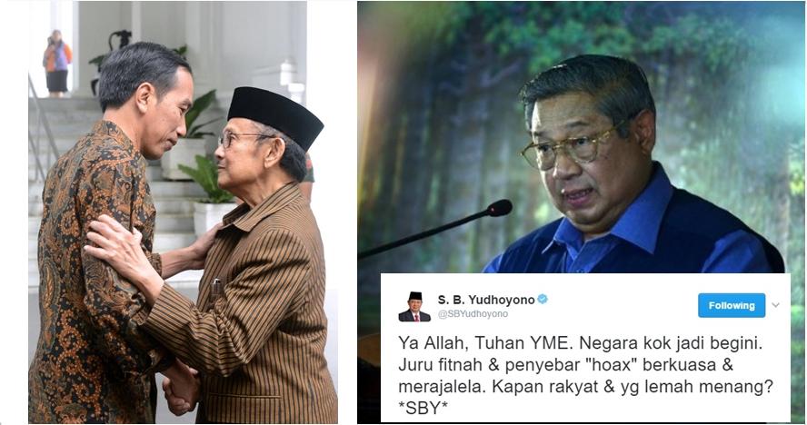 Begini beda gaya BJ Habibie dan SBY saat beri masukan ke Jokowi