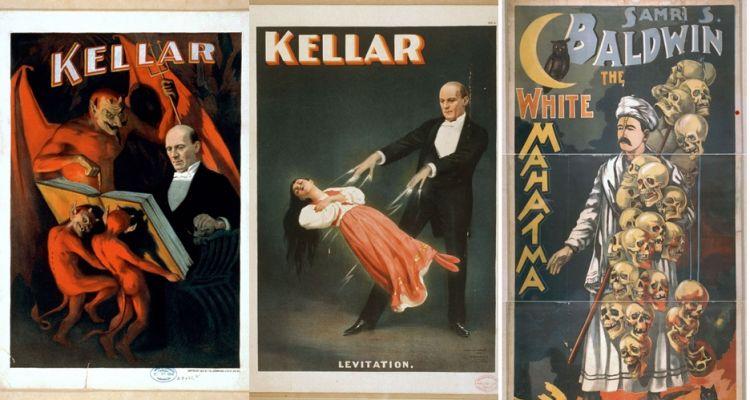 10 Poster pertunjukan sulap tahun 1900an ini bikin merinding disko