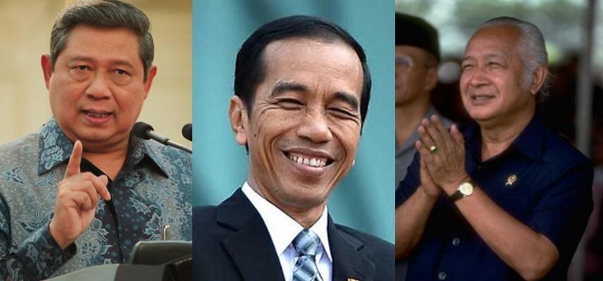 Ini beda gaya Jokowi, SBY dan Soeharto menanggapi kepolosan anak-anak