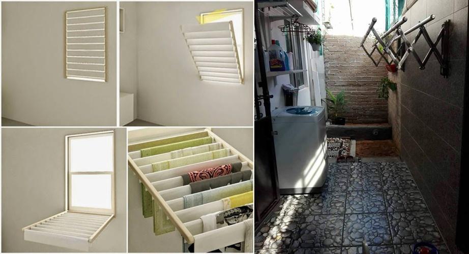 12 Inspirasi tempat mencuci dan menjemur pakaian, solusi rumah sempit