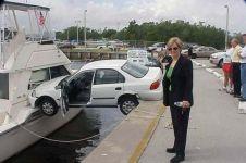14 Foto tunjukkan akibat pengemudi tidak fokus saat berkendara