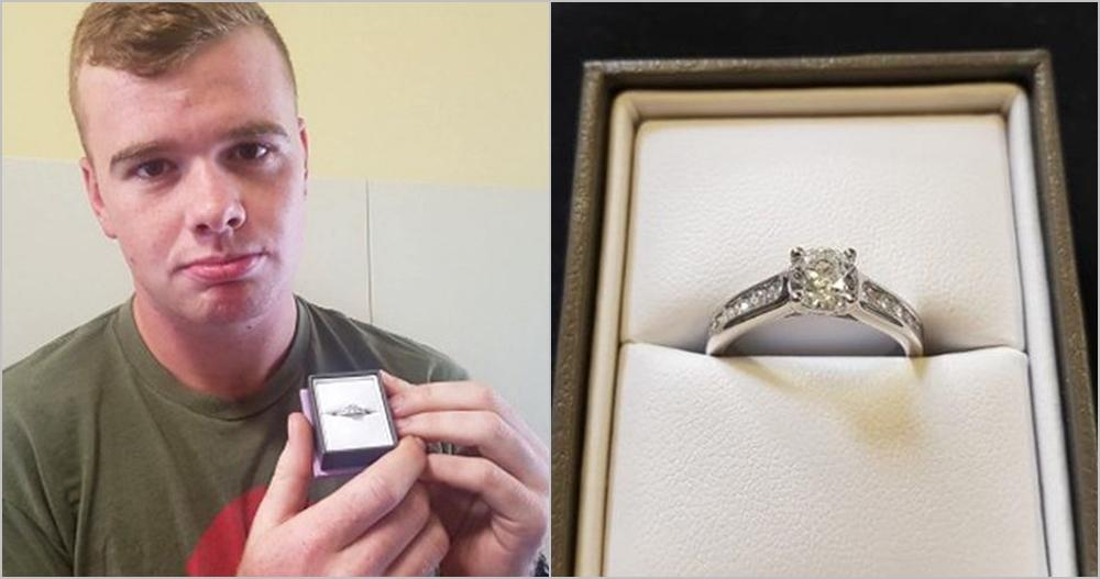 2 Tahun pacaran dan lamaran ditolak, pria ini lelang cincin Rp 13 ribu