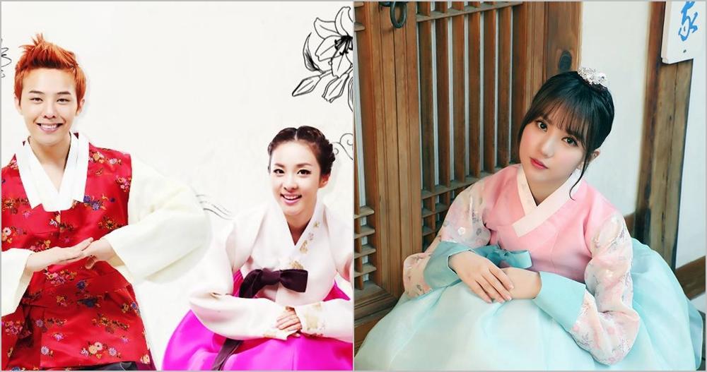 10 Seleb Korea ini makin cakep pakai Hanbok buat rayakan Imlek