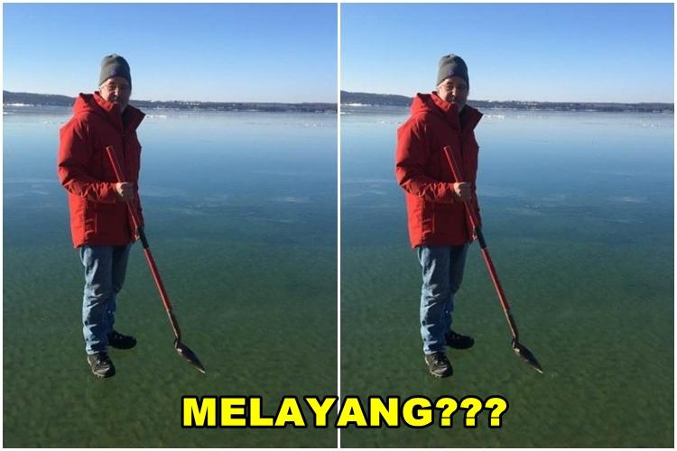Dituduh editan, foto viral kakek ini bikin bingung banyak netizen