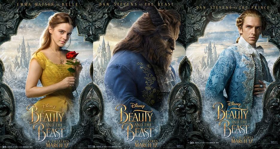 Tayang Maret, Disney rilis poster 12 karakter 'Beauty and The Beast'