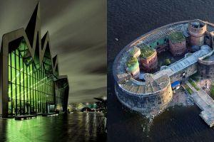10 Bangunan ini dijuluki 'Markas Supervillain' karena bentuknya serem