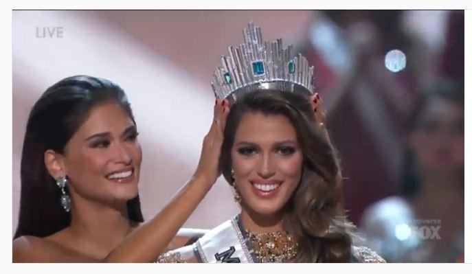 Bonjour, Miss Prancis sabet gelar Miss Universe tahun ini