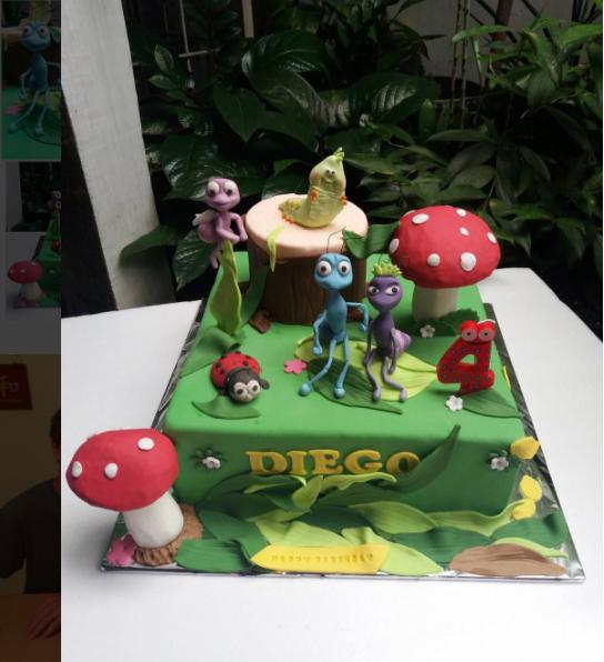 15 Kue Ulang Tahun Bertema Kartun Dari Pixar Ini Bikin Tak