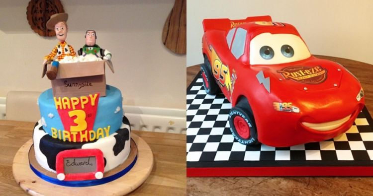 15 Kue ulang tahun bertema kartun dari Pixar ini bikin tak tega makan