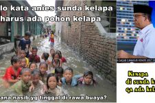 7 Ilustrasi sarkas sindir pernyataan Anies soal kelapa di Sunda Kelapa