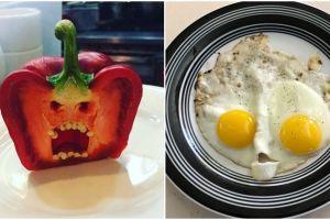 10 Makanan ini punya ekspresi wajah lucu tapi sekaligus mengerikan