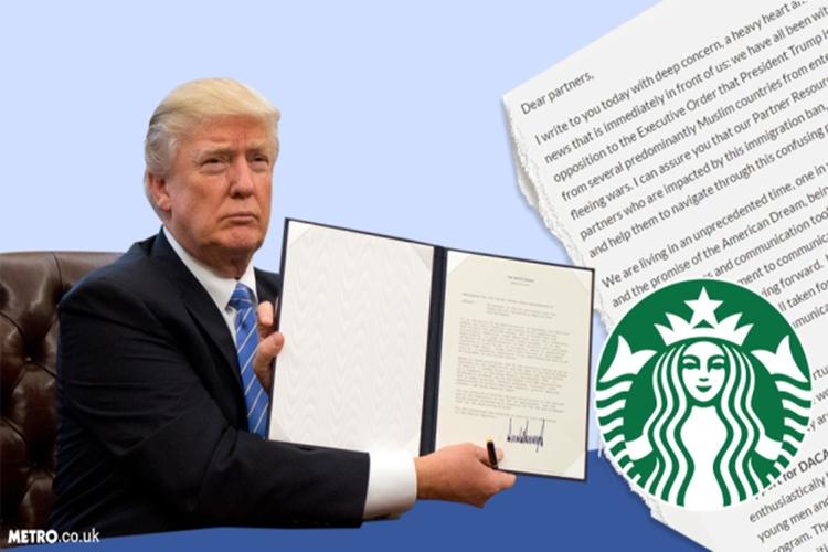 Tolak kebijakan Trump, Starbucks akan pekerjakan 10 ribu pengungsi