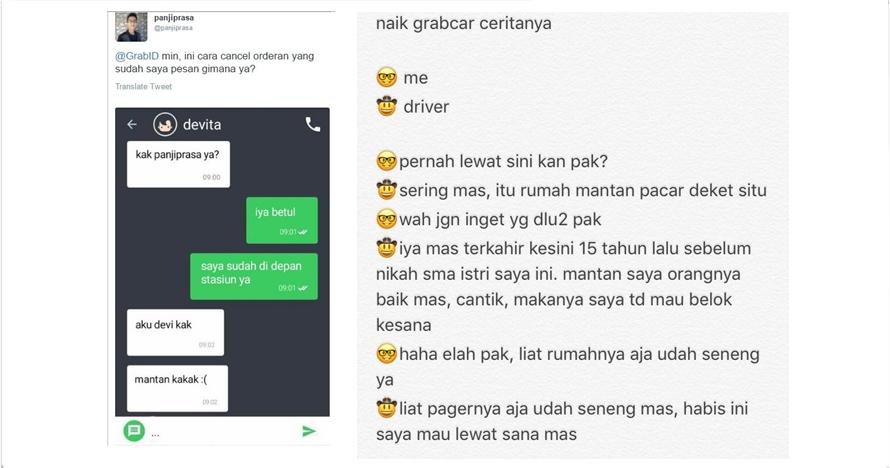 15 Obrolan driver taksi online dengan penumpang ini bikin ketawa baper