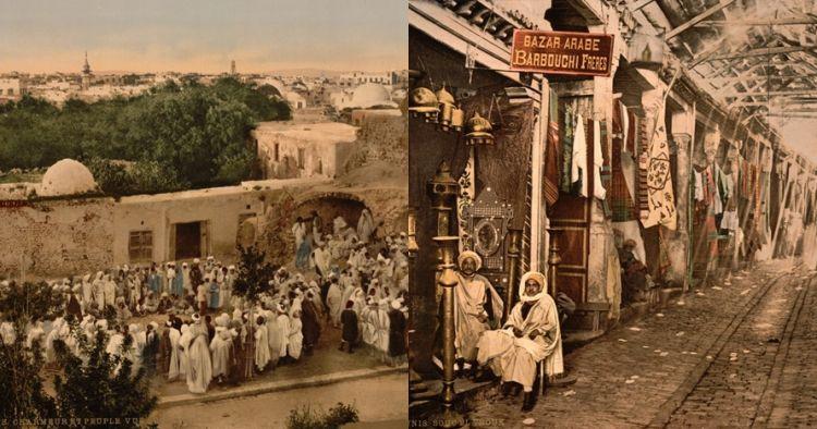 15 Foto abad ke-19 di Afrika Utara ini diwarnai ulang, hasilnya kece