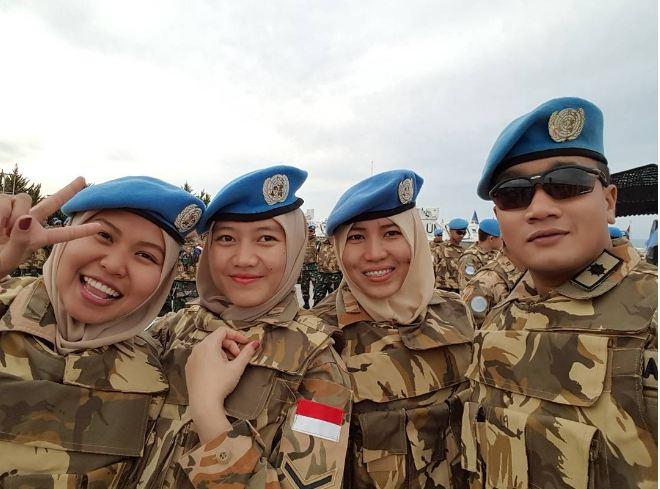 ismi arum pasukan perdamaian pbb © 2017 instagram