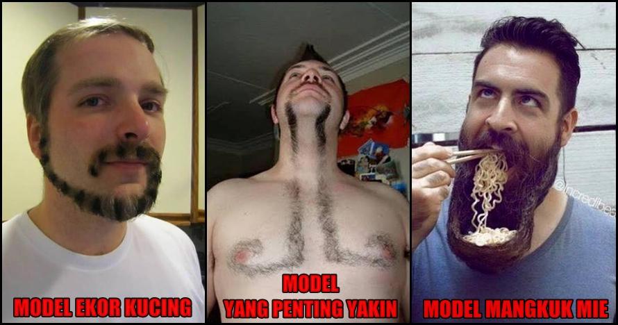 15 Orang ini punya bentuk kumis & jenggot nggak biasa, nyeleneh abis
