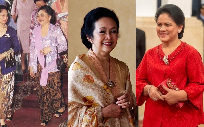 Beda Gaya Ibu Negara Indonesia Dari Masa Ke Masa Idolamu Siapa