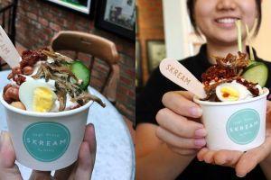 Es krim nasi lemak, inovasi kuliner unik yang wajib dicoba
