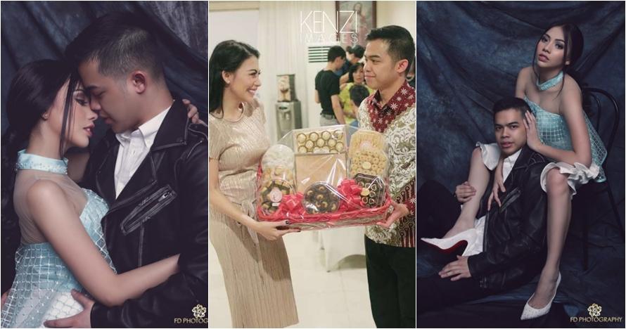 Resmi lamaran, ini 10 potret kemesraan Kezia Karamoy dan sang kekasih