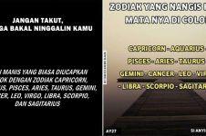 10 Meme zodiak ini ngaconya bikin susah nahan ketawa