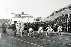 10 Foto Olimpiade modern pertama di Yunani tahun 1896, semegah apa ya?